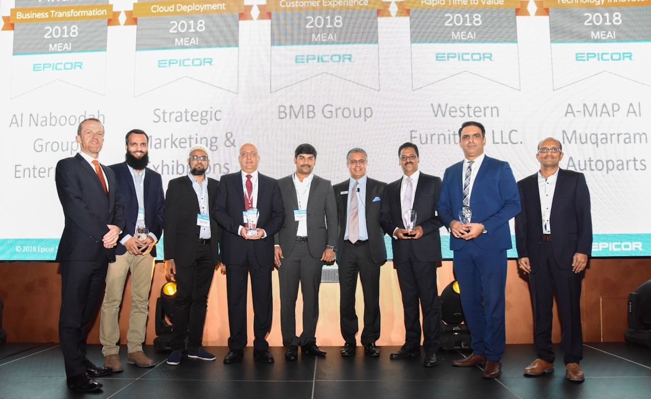 Photo of Epicor Announces Customer Excellence Award Winners for MENA