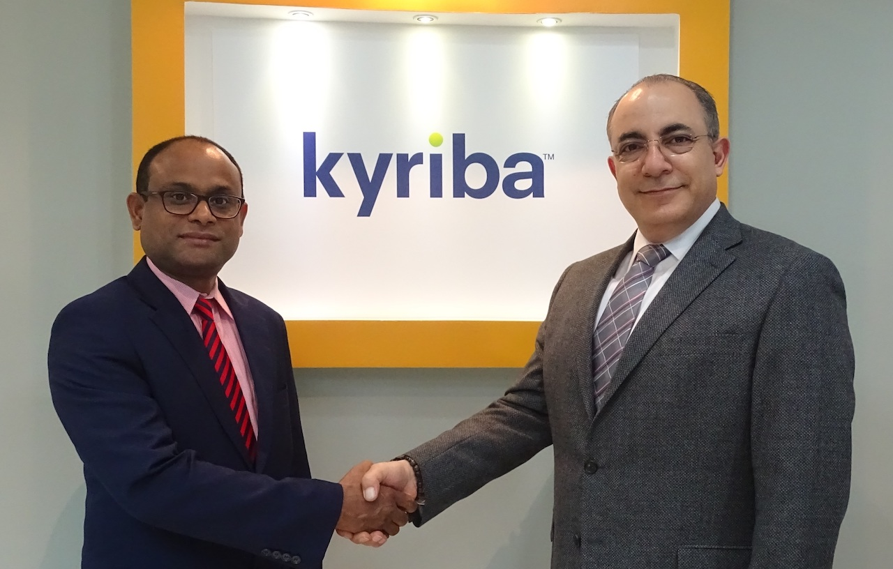 Photo of Finesse Partners with Kyriba