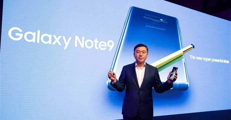 Samsung Launches the Galaxy Note9 and the Galaxy Watch in