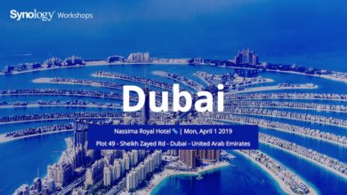 Photo of Synology to Conduct One of its Worldwide Workshops in Dubai on April 1, 2019