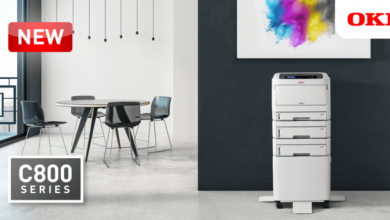 Photo of OKI Launches the new C800 A3 Colour Printer Series