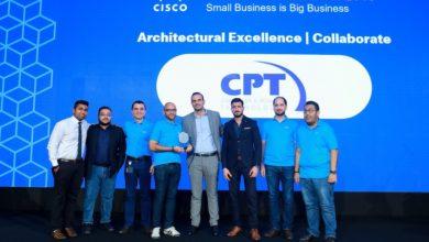 Photo of CPT Wins Cisco Collaborate Architecture Award