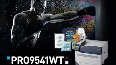 Photo of OKI Intros Pro9541WT A3+ Digital Transfer Media Printer