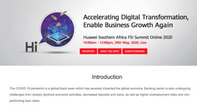 Photo of Huawei Enterprise to Host Online Summit