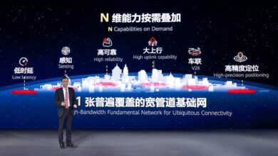 """Photo of Huawei Launches a Full Series of 5G Solutions for """"1+N"""" Target Networks"""