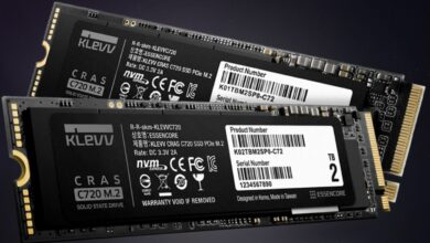 Photo of KLEVV Launches New CRAS C920 and C720 PCIe M.2 Gen4x4/3×4 SSDs
