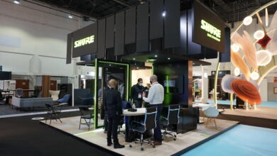 Photo of Shure Shows Off New Audio Products at Workspace