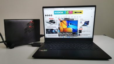 Photo of Review: ASUS ROG Flow X13 (GV301) with ROG XG Mobile eGPU