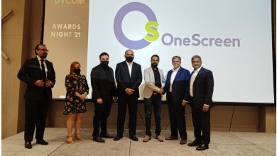 Photo of DVCOM Signs Up as Exclusive Distributor for OneScreen in the UAE
