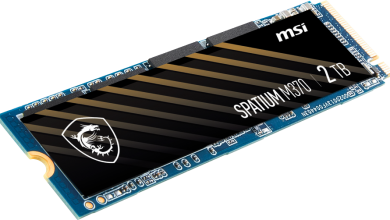 Photo of MSI Expands Product Line to Consumer SSDs with SPATIUM